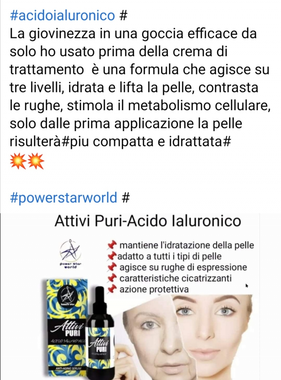 https://vetrina-powerstarworld.it/Shop/13940 Fai il tuo acquisto in autonomia clicca☝️☝️☝️Sul link